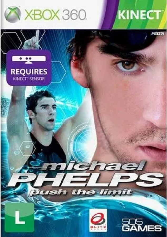 Jogo Xbox 360 NOVO Michael Phelps - Push the Limit