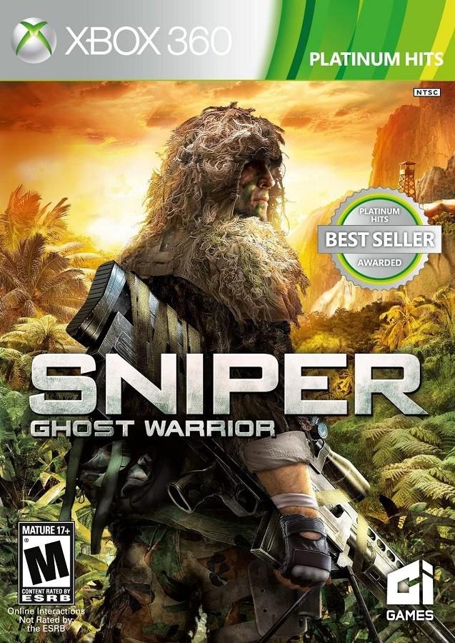 Jogo XBOX 360 NOVO Sniper Ghost Warrior