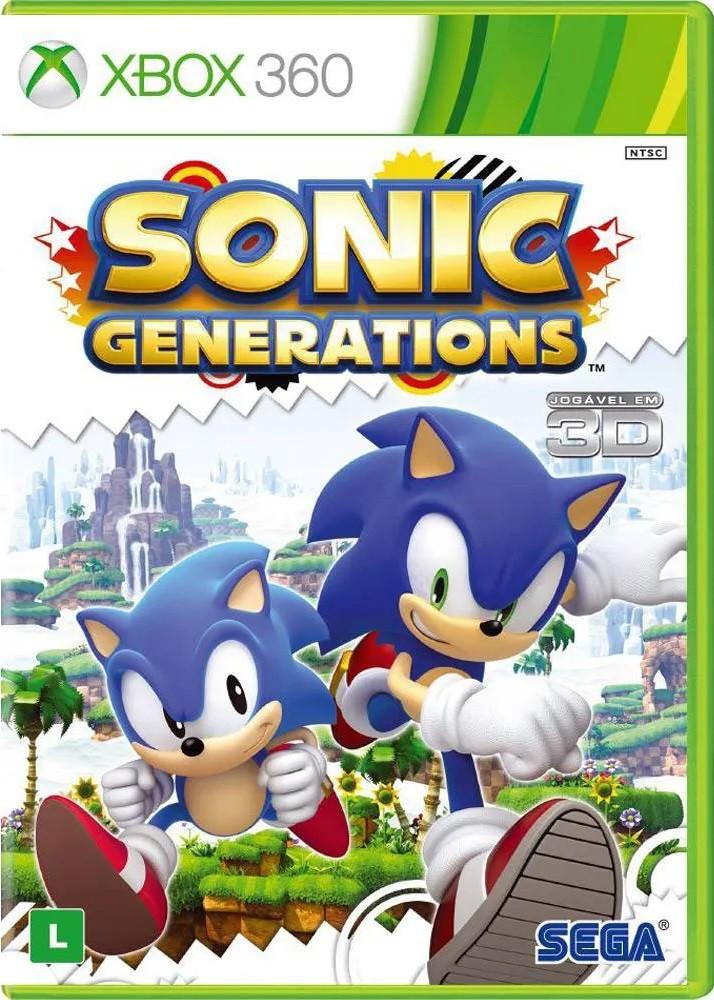 Jogo XBOX 360 NOVO Sonic Generations