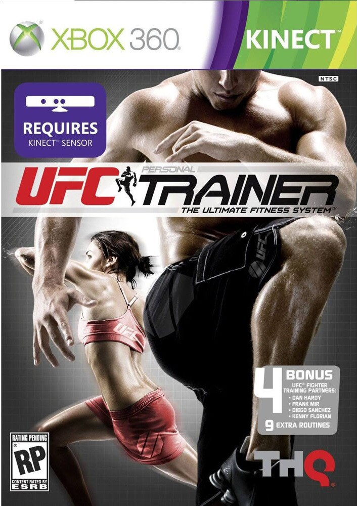 Jogo XBOX 360 UFC Personal Trainer