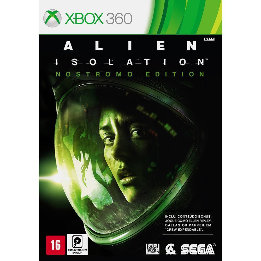 Jogo XBOX 360 Usado Alien Isolation Nostromo Edition