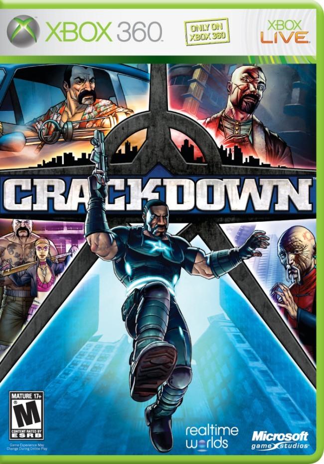 Jogo XBOX 360 Usado Crackdown