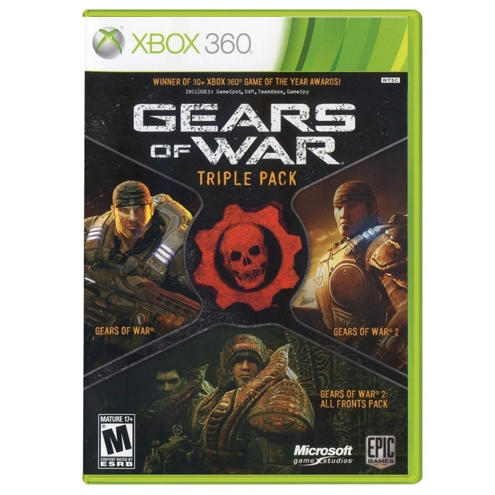 Jogo XBOX 360 Usado Gears Of War Triple Pack