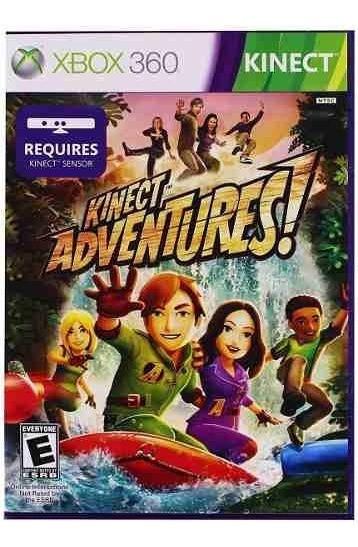 Jogo XBOX 360 Usado Kinect Adventures