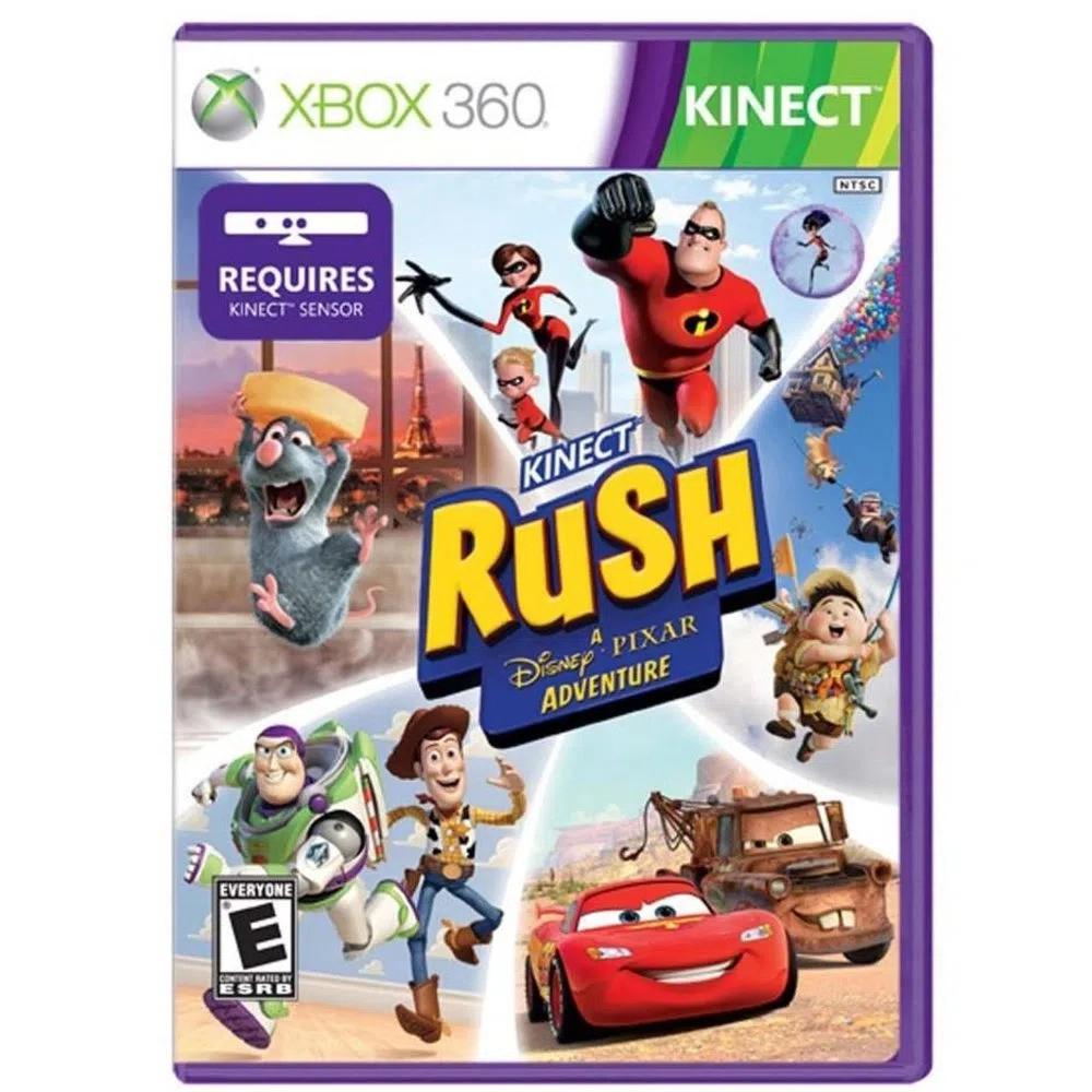 Jogo XBOX 360 Usado Kinect Rush A Disney Pixar Adventure