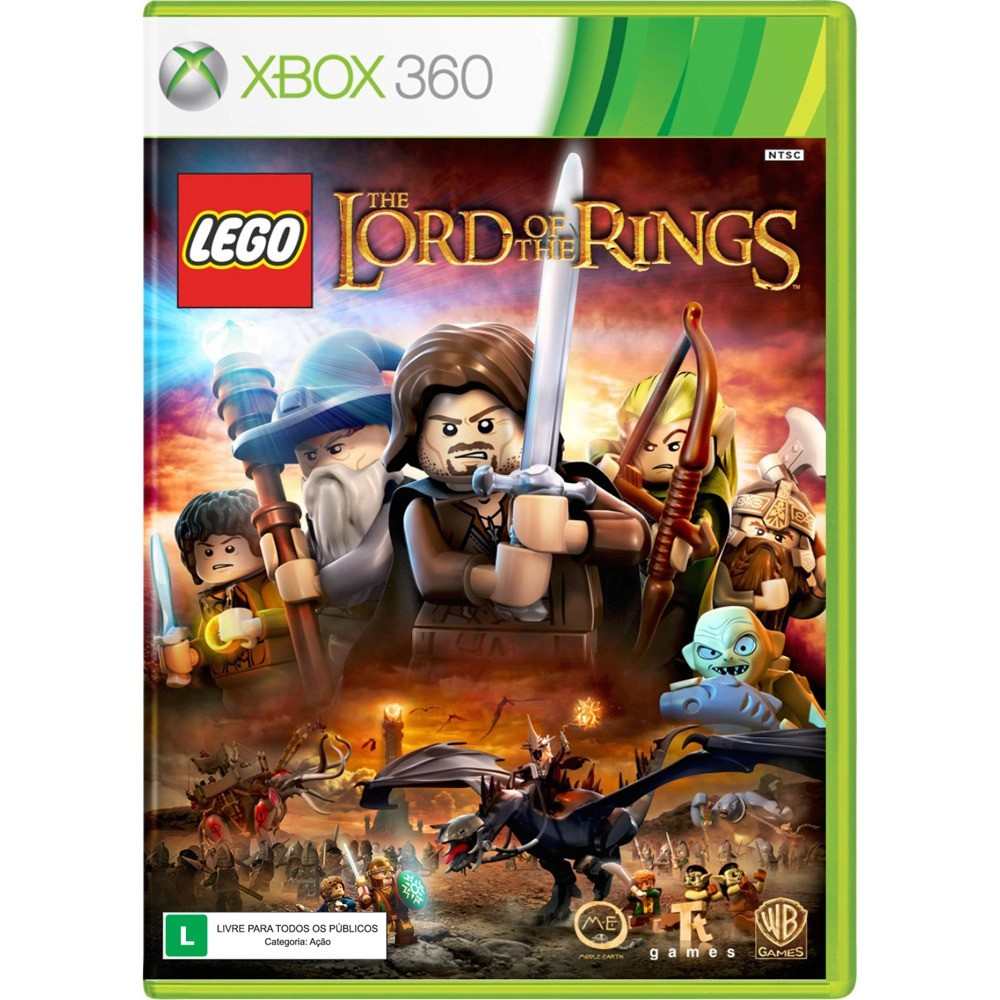 Jogo XBOX 360 Usado Lego Lord Of The Rings