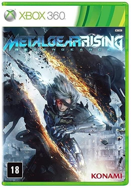 Jogo XBOX 360 Usado Metal Gear Rising Revengeance