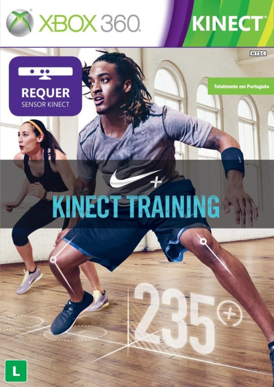 Jogo XBOX 360 Usado Nike Kinect Training