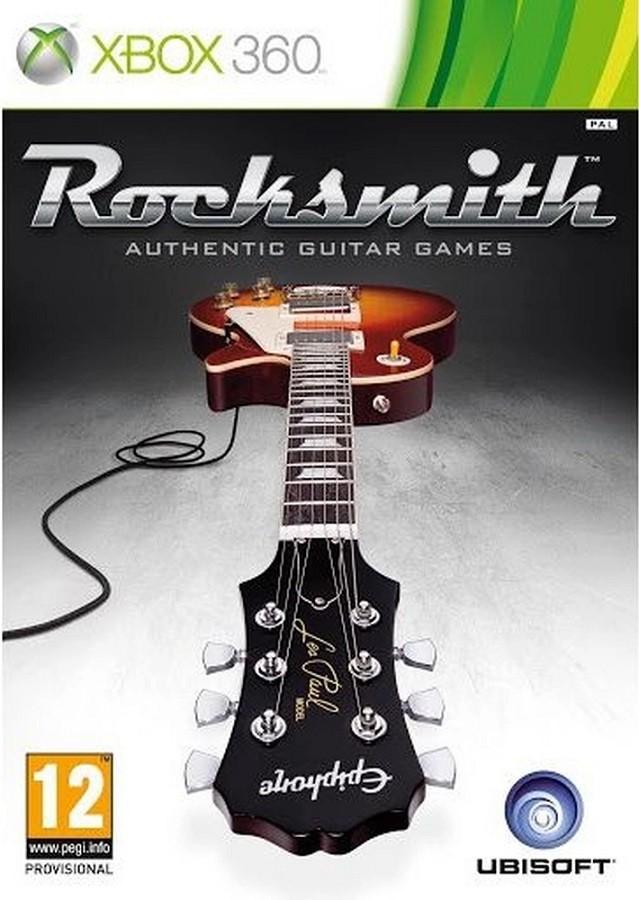 Jogo Xbox 360 Usado Rocksmith - Authentic Guitar Games