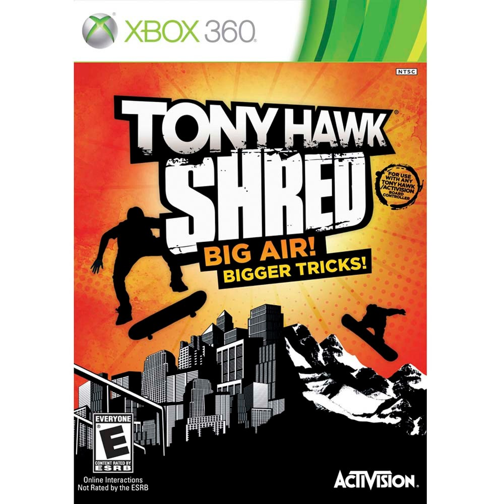 Jogo XBOX 360 Usado Tony Hawk Shred