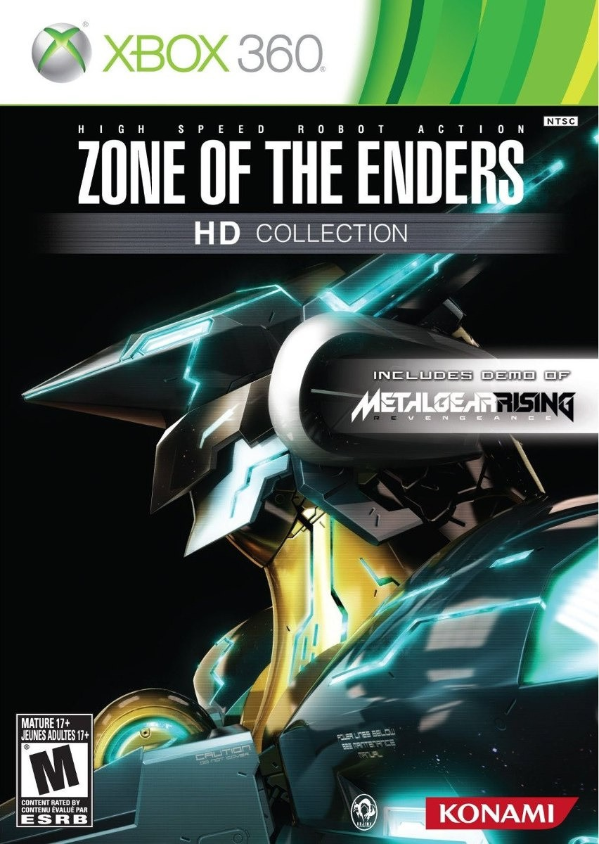 Jogo XBOX 360 Usado Zone Of The Enders HD Collection