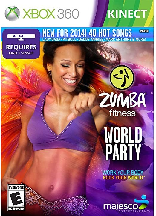 Jogo XBOX 360 Usado Zumba Fitness World Party