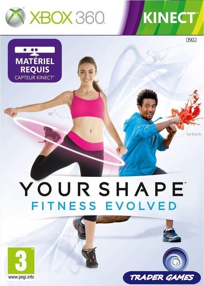 Jogo XBOX 360 Your Shape: Fitness Evolved