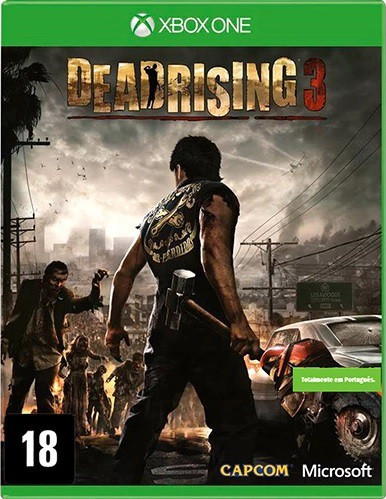 Jogo Xone Dead Rising 3