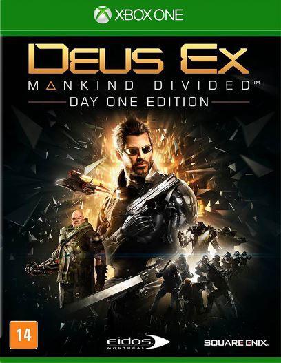 Jogo Xone Deus Ex: Mankind Divided