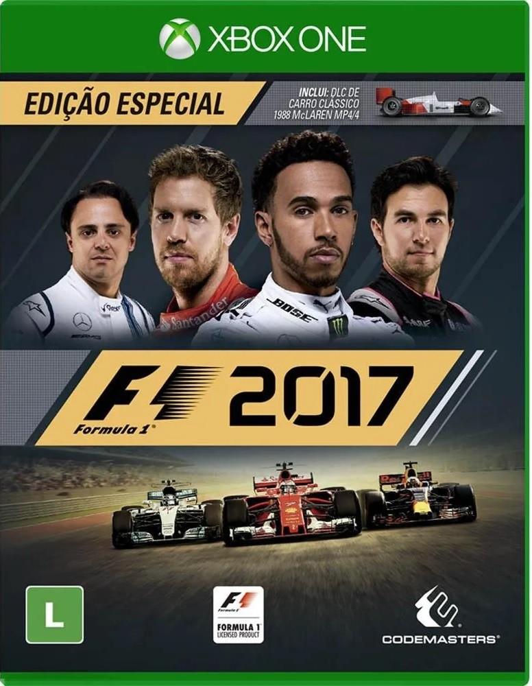 Jogo Xone F1 2017