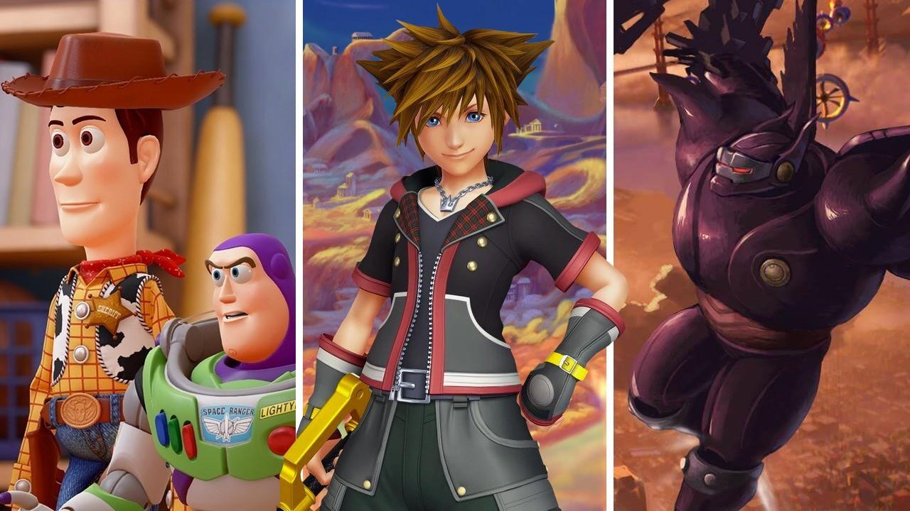 Jogo Xone Kingdom Hearts III
