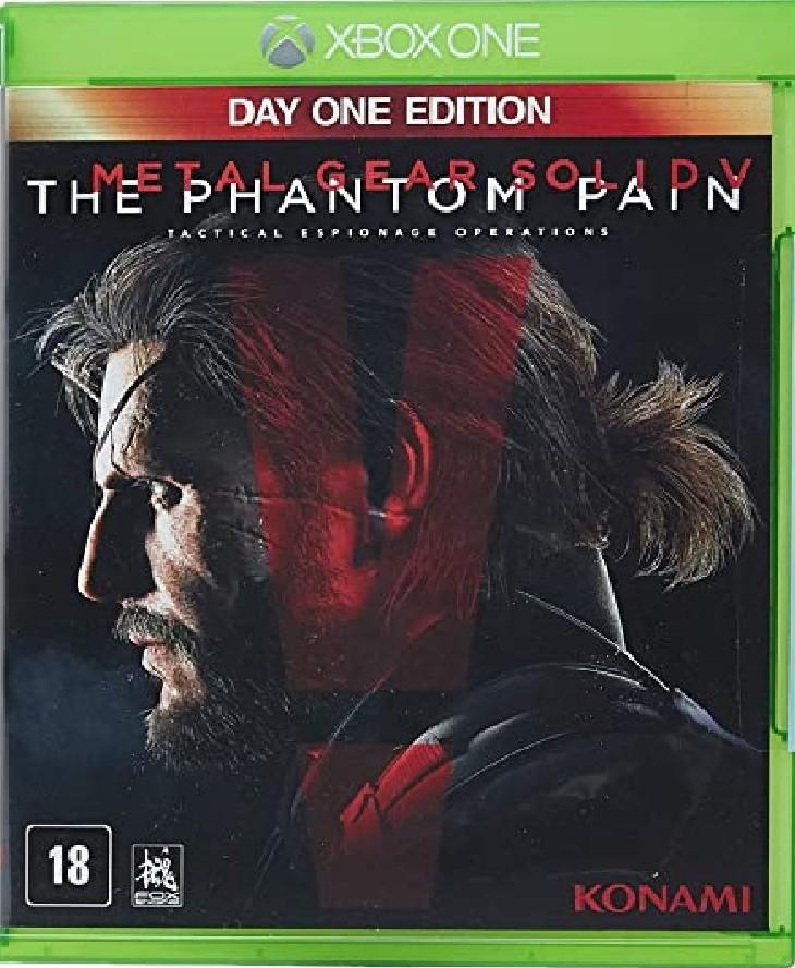 Jogo Xone Metal Gear Solid V: The Phantom Pain
