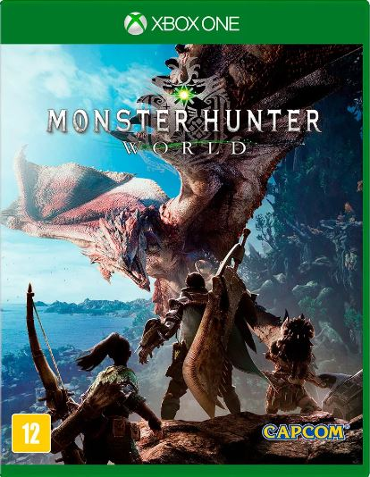 Jogo Xone Monster Hunter World