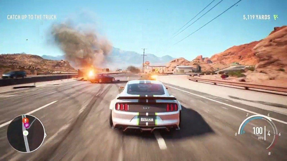 Jogo Xone Need For Speed Payback