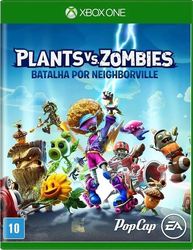 Jogo Xone Plants vs Zombies: Batalha por Neighborville