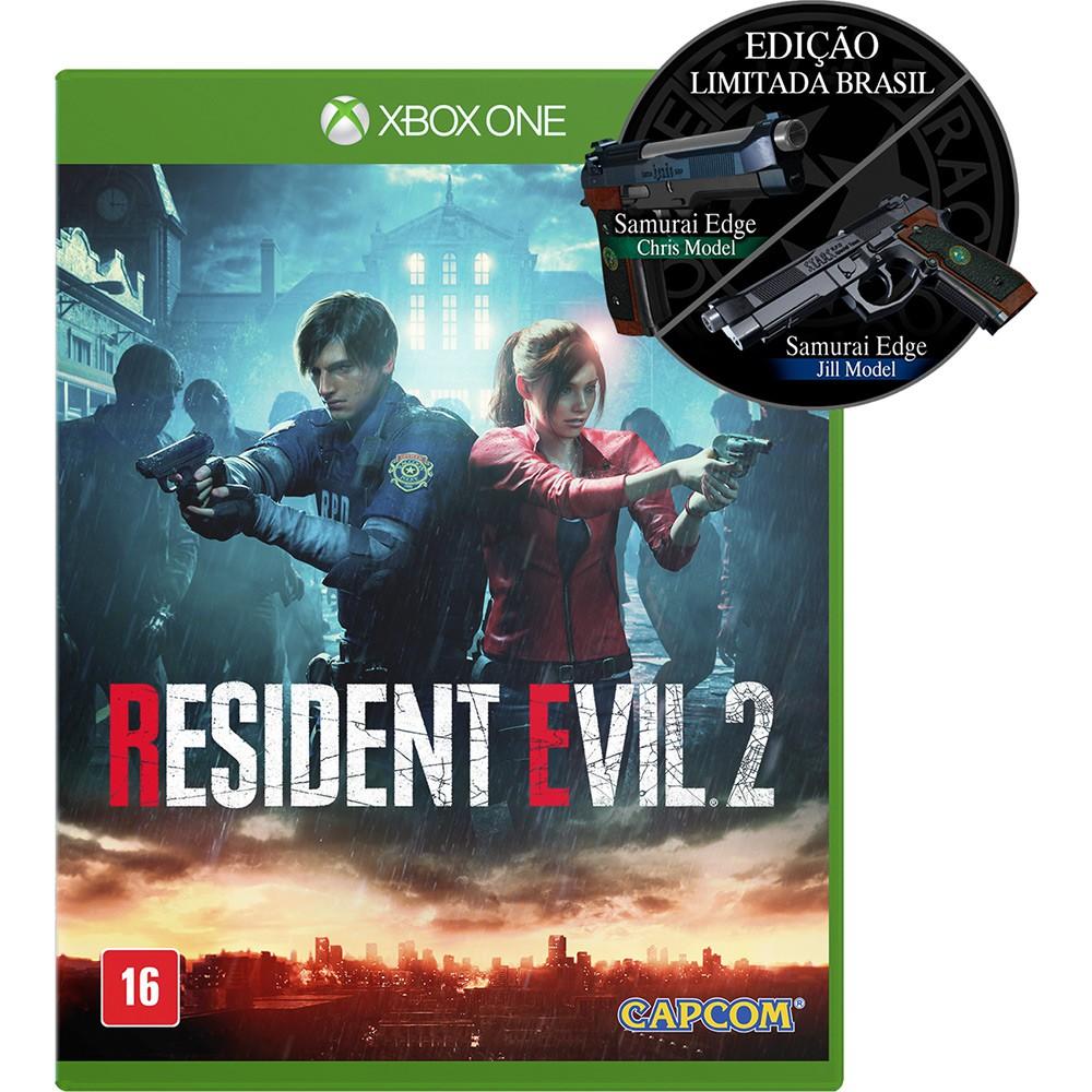 Jogo Xone Resident Evil 2 Ed. Limitada