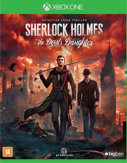Jogo Xone Sherlock Holmes The Devil Daughter