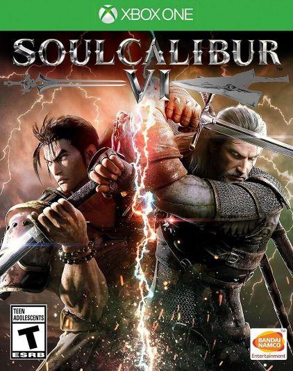 Jogo Xone Soul Calibur 6