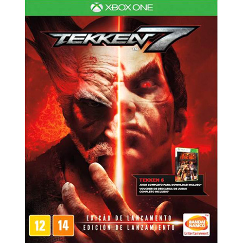 Jogo Xone Tekken 7 Dlc Jogo Completo
