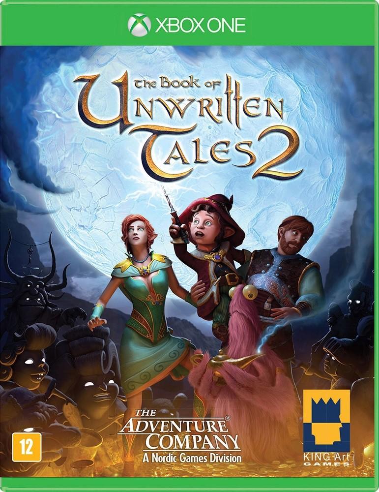 Jogo Xone The Book of Unwritten Tales 2