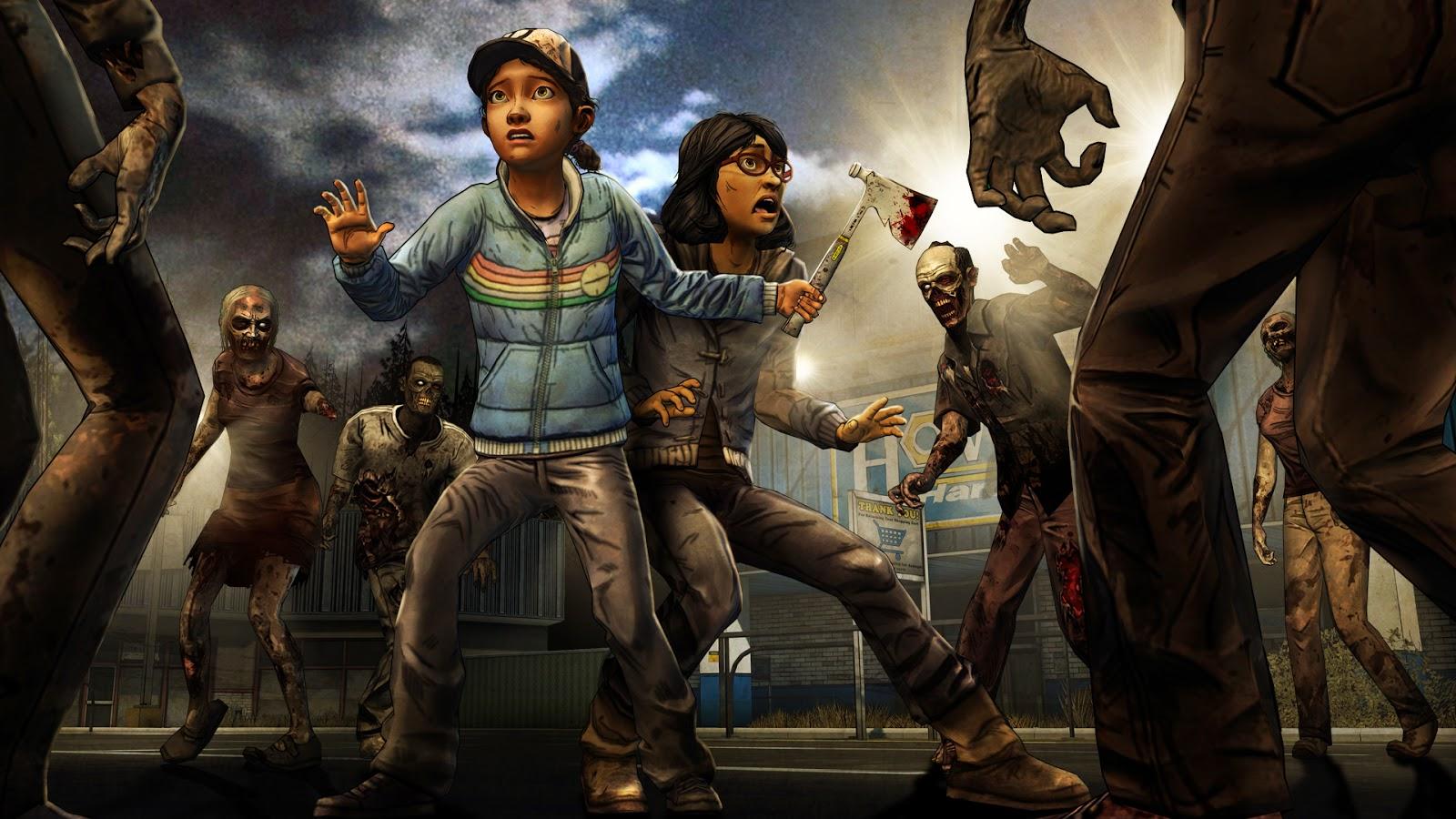 Jogo Xone The Walking Dead S 2