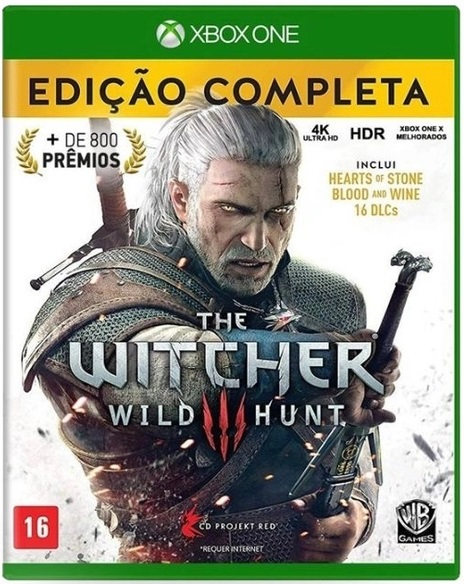 Jogo Xone The Witcher 3 Complete Edition