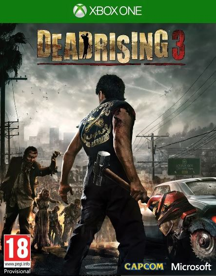 Jogo Xone Usado Dead Rising 3
