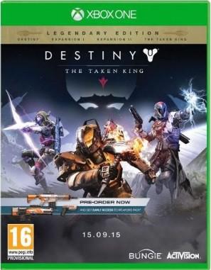Jogo Xone Usado Destiny: The Taken King