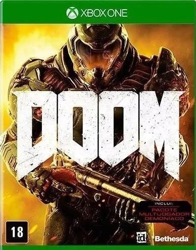 Jogo Xone Usado Doom