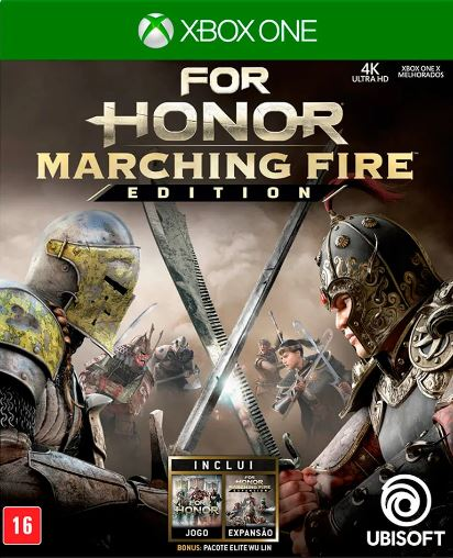 Jogo Xone Usado For Honor Marching Fire
