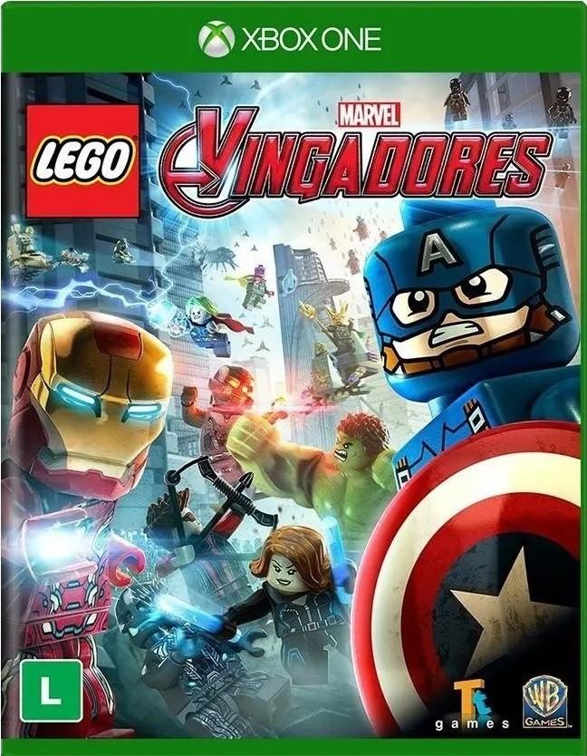 Jogo Xone Usado Lego Marvel Vingadores