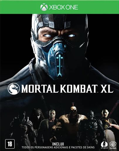 Jogo Xone Usado Mortal Kombat XL