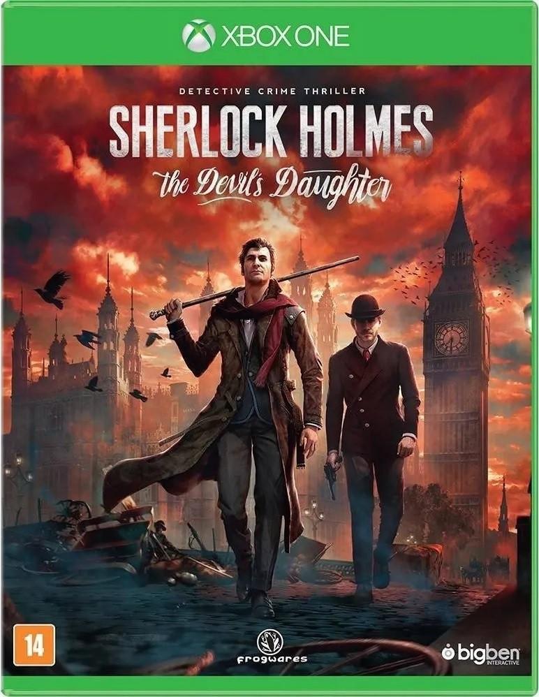 Jogo Xone Usado Sherlock Holmes: The Devil's Daughter