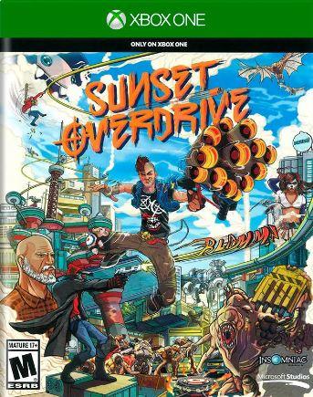 Jogo Xone Usado Sunset Overdrive