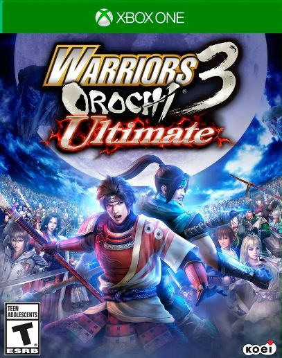 Jogo Xone Usado Warriors Orochi 3 Ultima