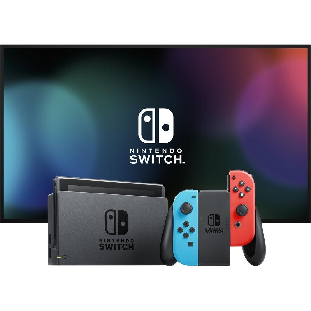Kit: Console Nintendo Switch com Jogo Mario Kart 8 Deluxe