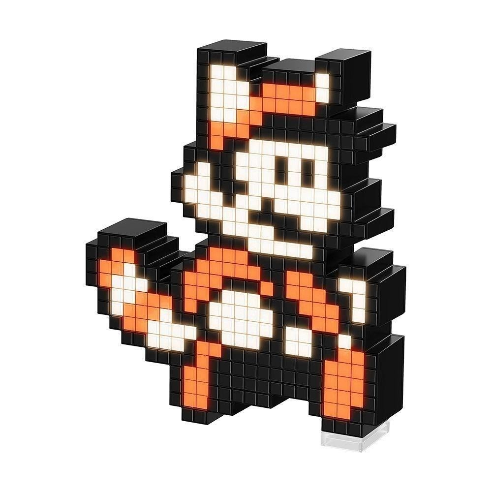 Luminária Pixel Pals: Mario Racoon