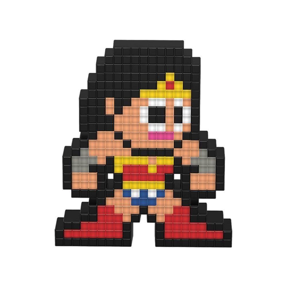 Luminária Pixel Pals: Wonder Woman
