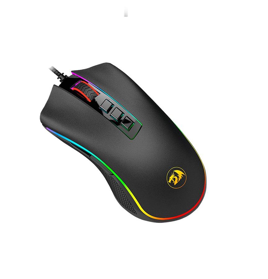 Mouse Gamer Redragon Cobra RGB M711 Chroma 10000dpi 8 botões