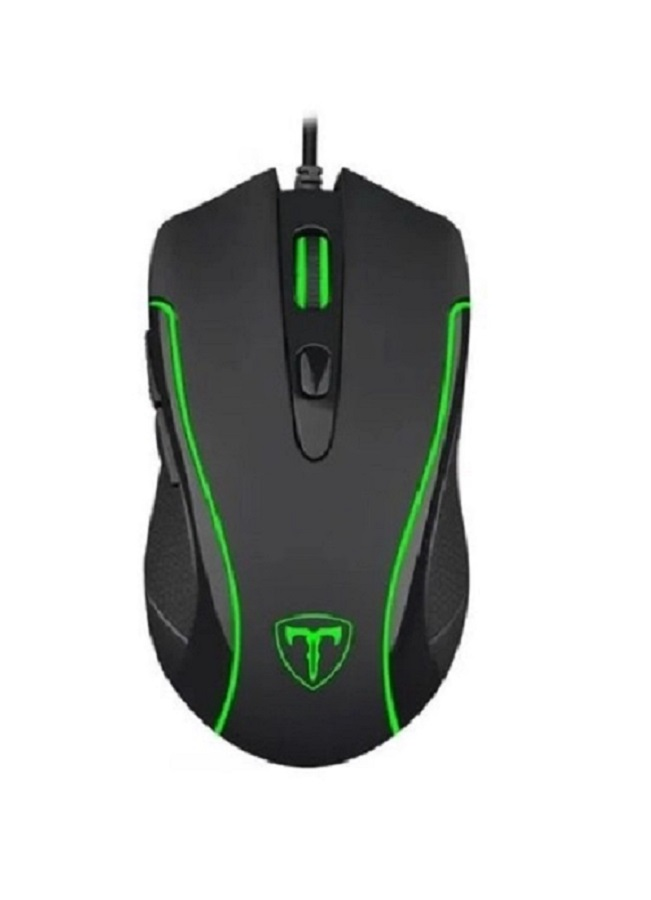 Mouse Gamer T-Dagger Private 3200dpi 6 Botoes