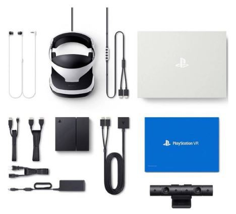 Playstation Vr Mega Pack PS4 VR - Óculos ZVR2 Câmera 5 Jogos