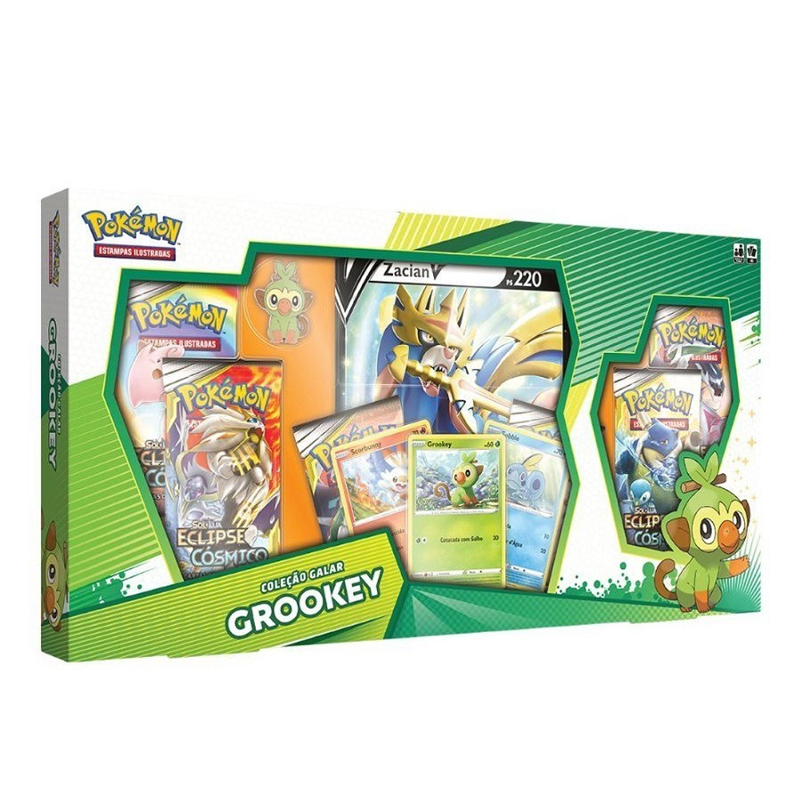 Pokemon Ee1 Box Colecao Galar
