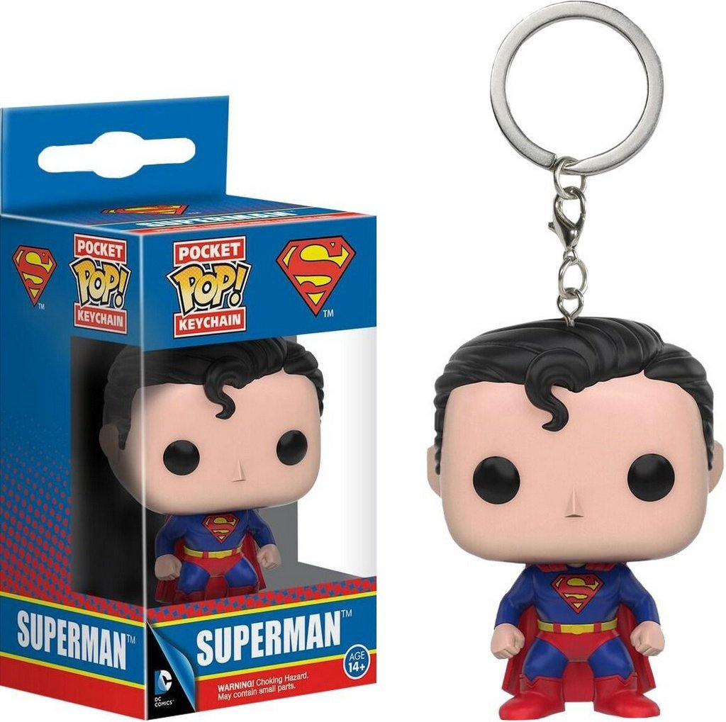 Pop Funko Chaveiro DC Superman