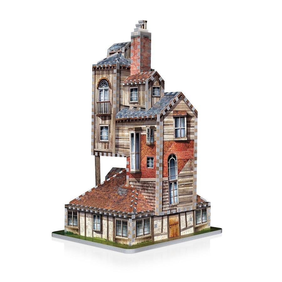 Quebra Cabeça Harry Potter The Burrow Weasley Family Home - Wrebbit Puzzle 3D